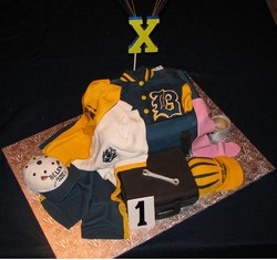 Sports Team Cake from D'Cakes by Diana