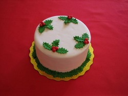 Mistletoe Cake from D'Cakes by Diana