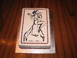 Tango Dance Cake from D'Cakes by Diana